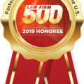 Top 500 Law Firm Honoree